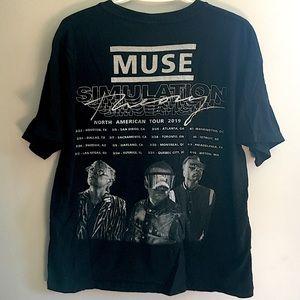 Muse Simulation Theory 2019 Tour Shirt Band Music